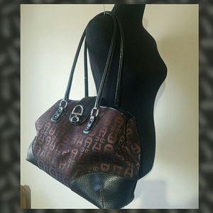 Etienne Aigner logo Womens  Shoulder Handbag